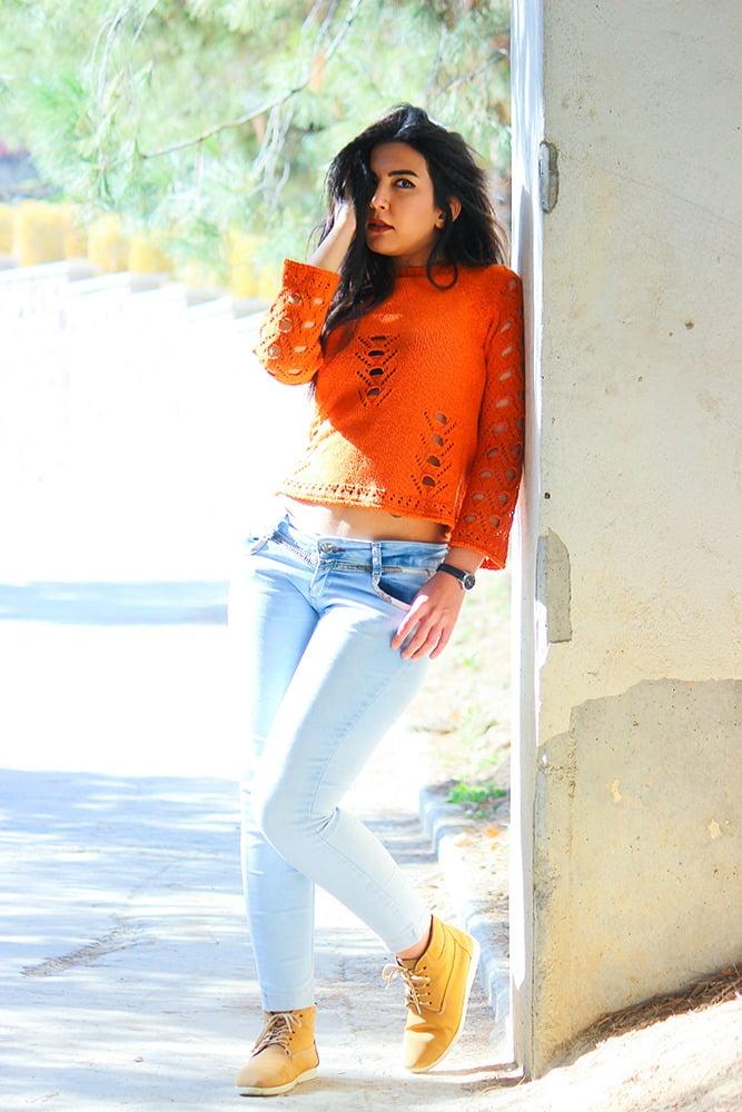 ژست فشن مدل دختر ایران