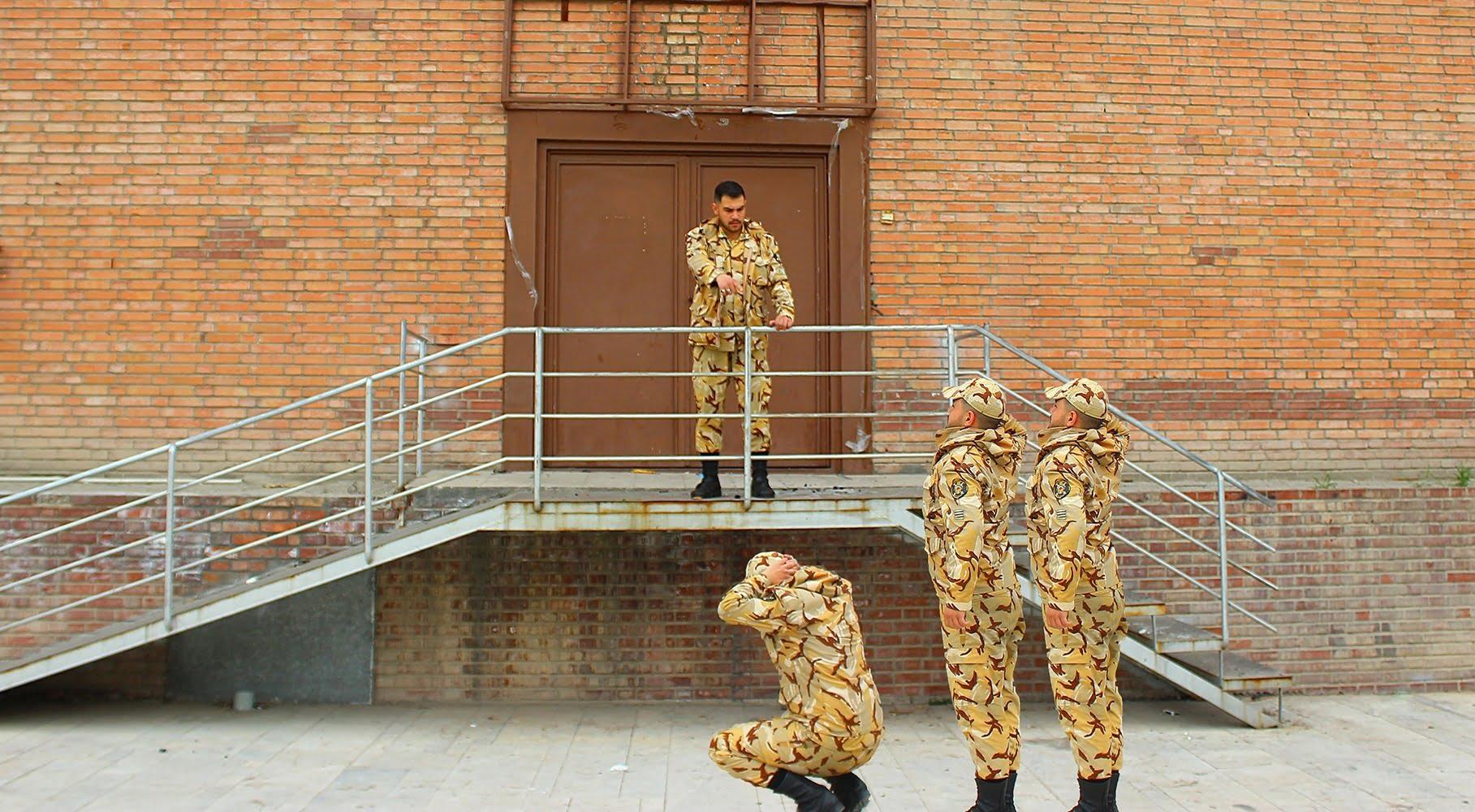 عکس خنده دار سربازی