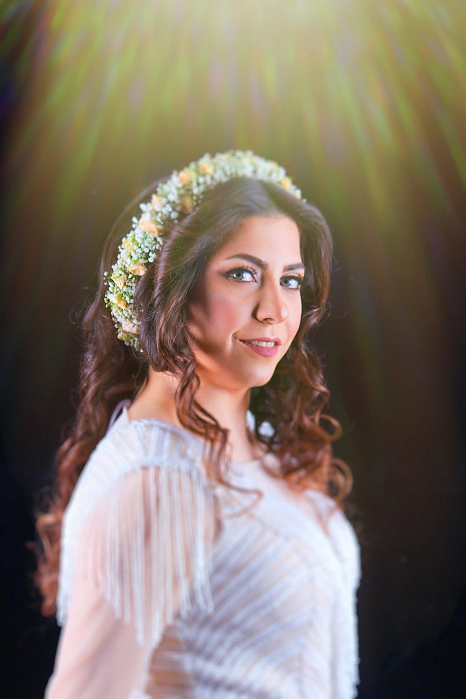 عکس عروس در آتلیه