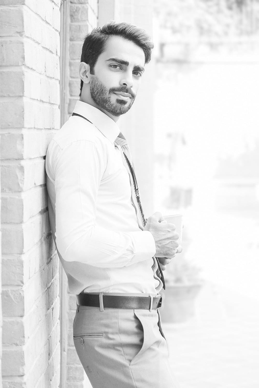 عکس پرتره مرد جنتلمن ایرانی
