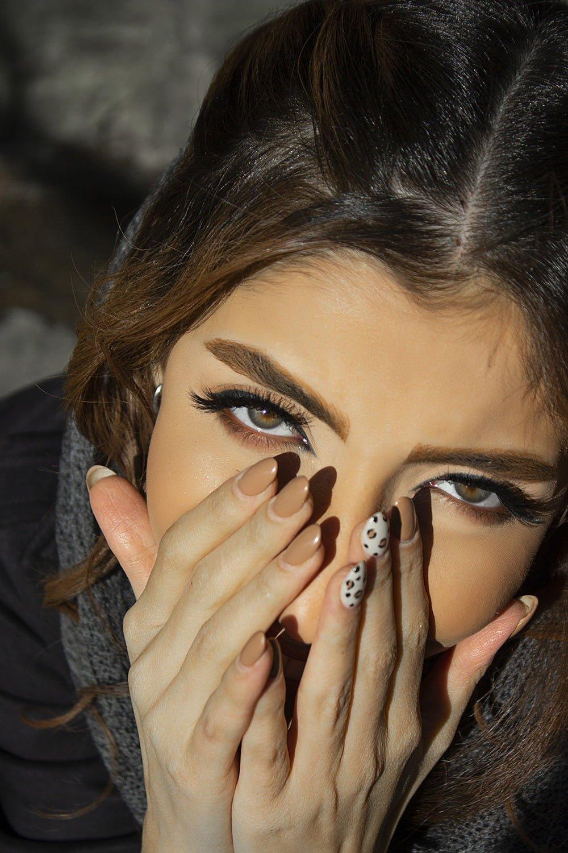 چشم رنگی جذاب