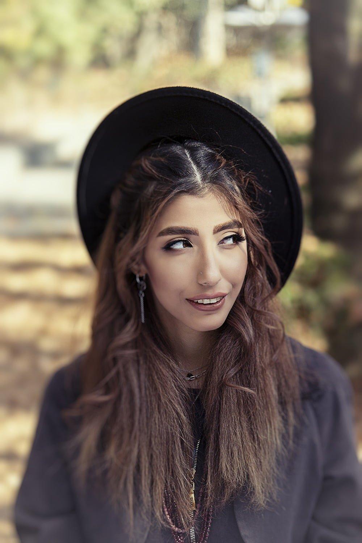چهره زیبا دختر زیبا